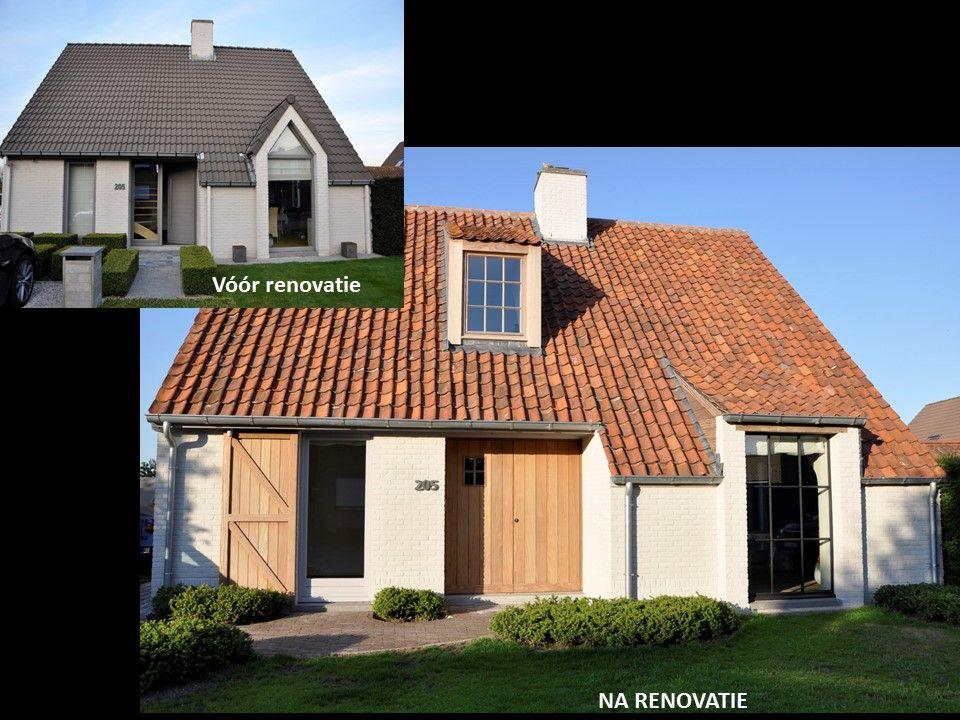 Remake over van moderne woning tot tijdloos landelijke for Modernes haus villa