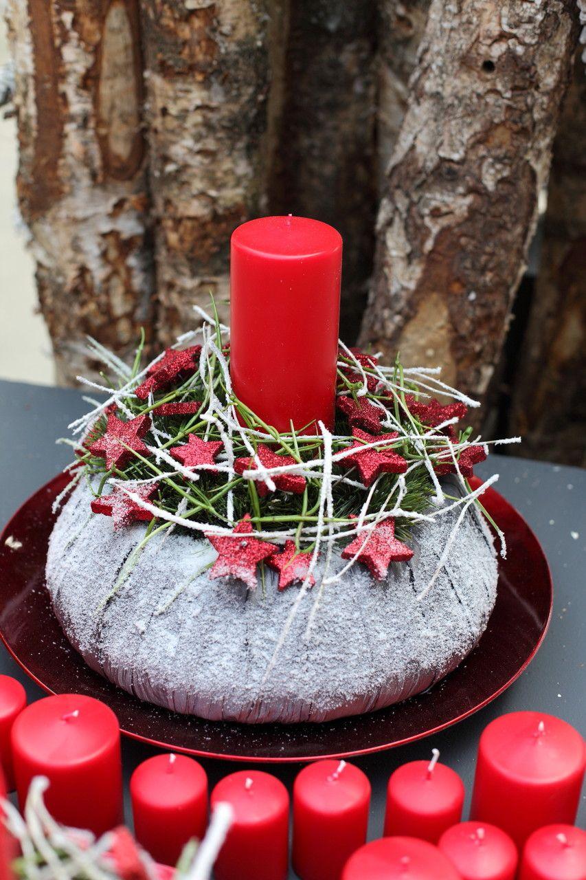 Weihnachtliche gesteck ideen mehr sehen weihnachten for Gestecke basteln weihnachten