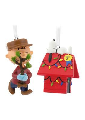 Hallmark Peanuts Charlie Brown And Snoopy Christmas Ornaments, Set Of 2. Celebrate the family tradition of the classic TV show