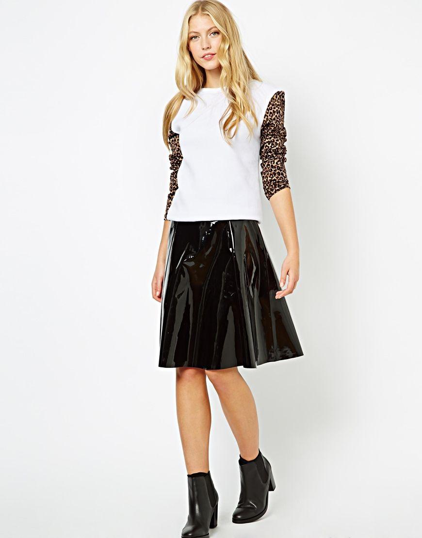 Image 4 ofLavish Alice Jumper with Leopard Sleeves