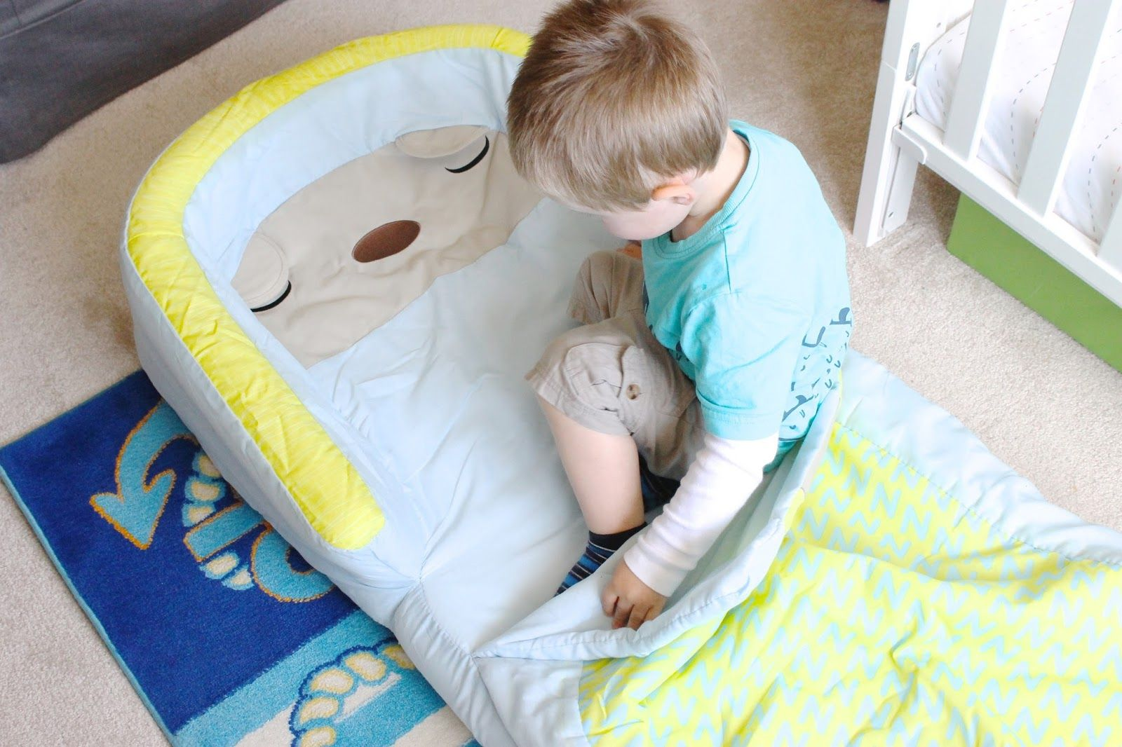 Bearhug My First Readybed Review And Giveaway Blow Up