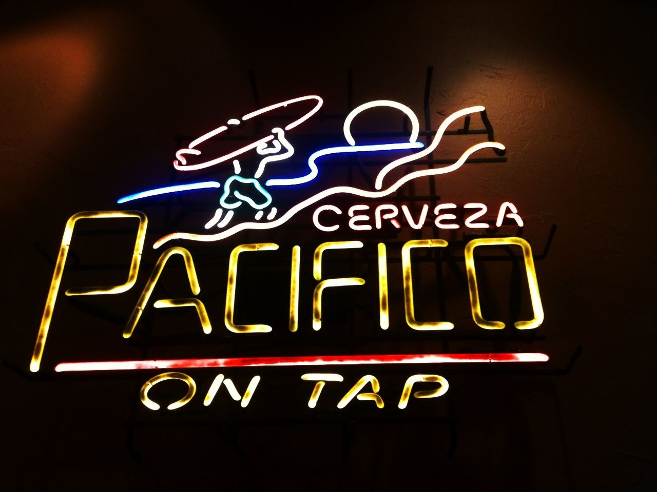 Cerveza Pacifico Neon Sign | Other Stuff We Like | Neon