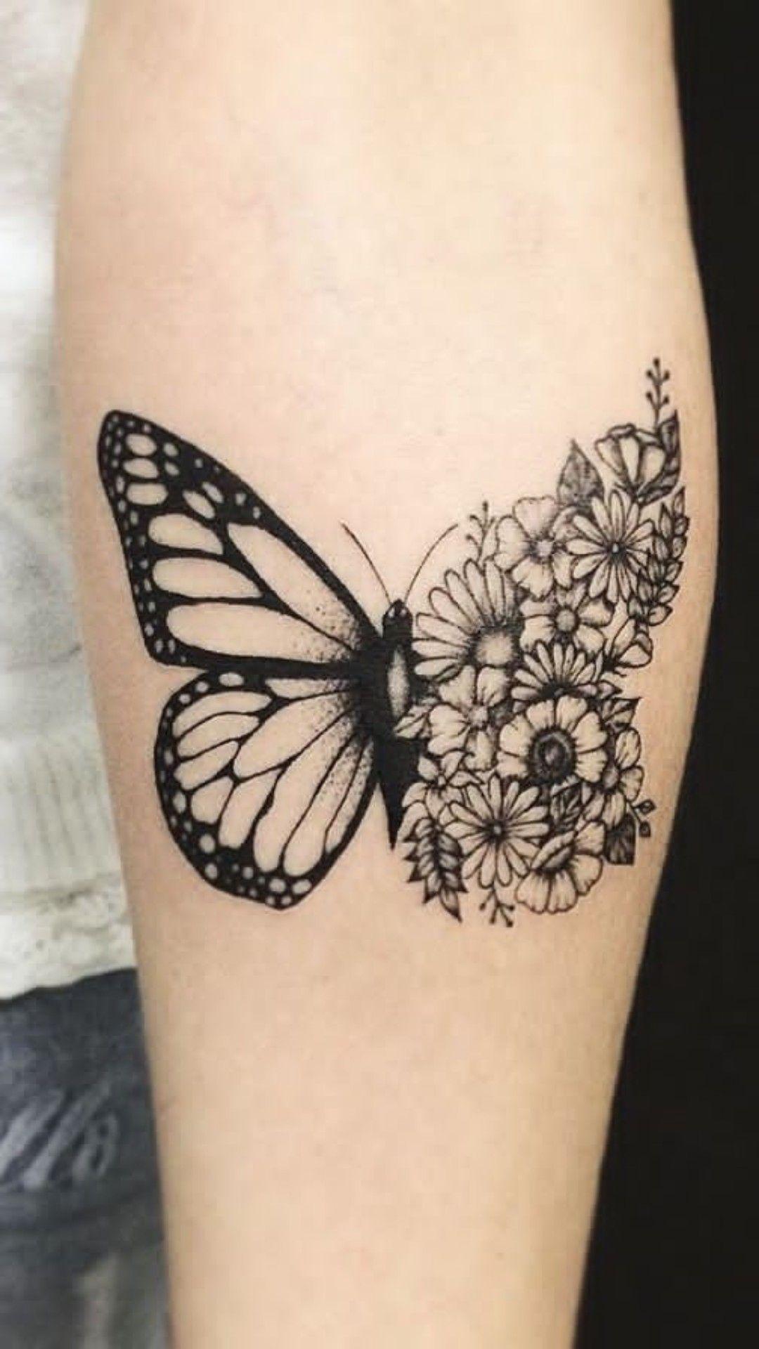 Pin By Hailey Rockafellow On Piercings Tattoos In 2020 Sleeve Tattoos Butterfly Tattoo Wrist Tattoos