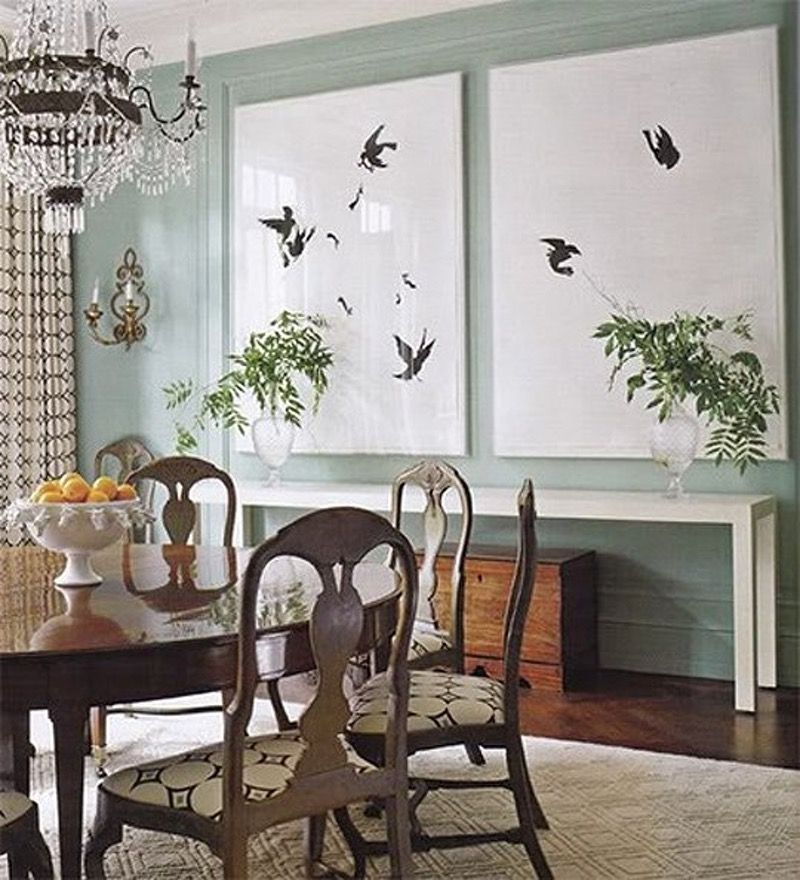 Big Appetite 20 Dining Rooms With Large Scale Art  Large Scale Fair Dining Room Wall Art 2018
