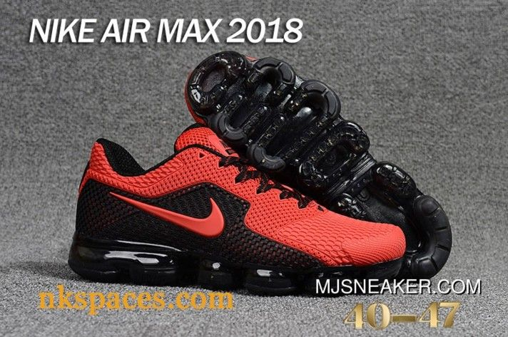 Nike Air Vapormax 2018 Red Black New Release in 2019  118983b37
