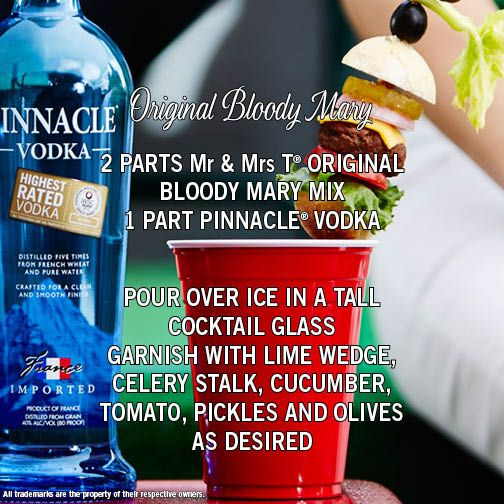 Enjoy a classic bloody mary with this weeks brunch food that a premium vodka at an affordable price pinnacle vodka boasts more than 40 flavors perfect for making delicious vodka drinks sisterspd