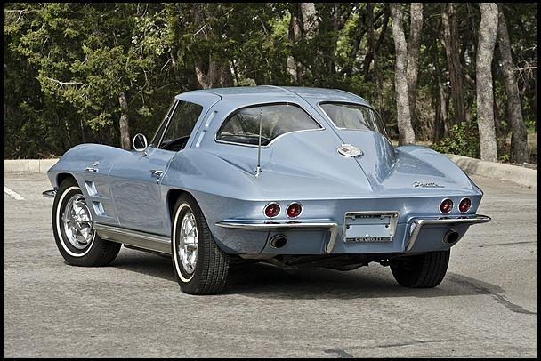 1963 Chevrolet Corvette Split Window Coupe 327/360 HP, 4