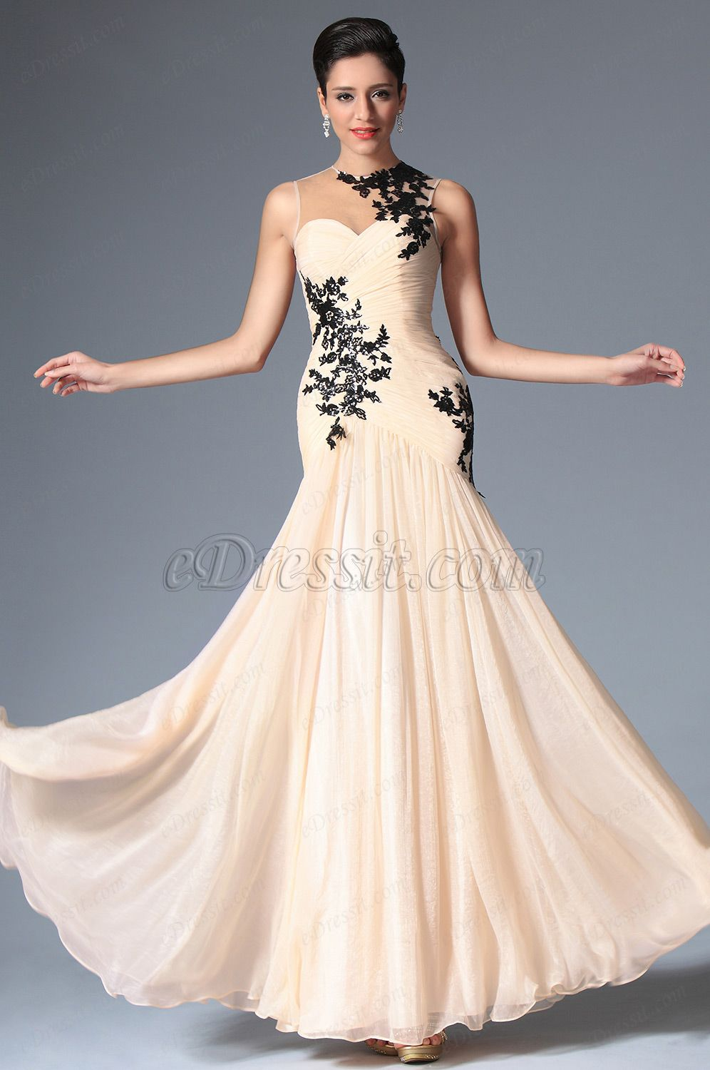 eDressit 2014 New Pleated Sleeveless Evening Prom Gown (02148514 ...