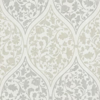 Beacon House Adelaide Light Green Ogee Floral Paper Strippable Roll Wallpaper Covers 56 Sq Ft 450 67386 The Home Depot Floral Wallpaper Green Wallpaper Green Floral Wallpaper