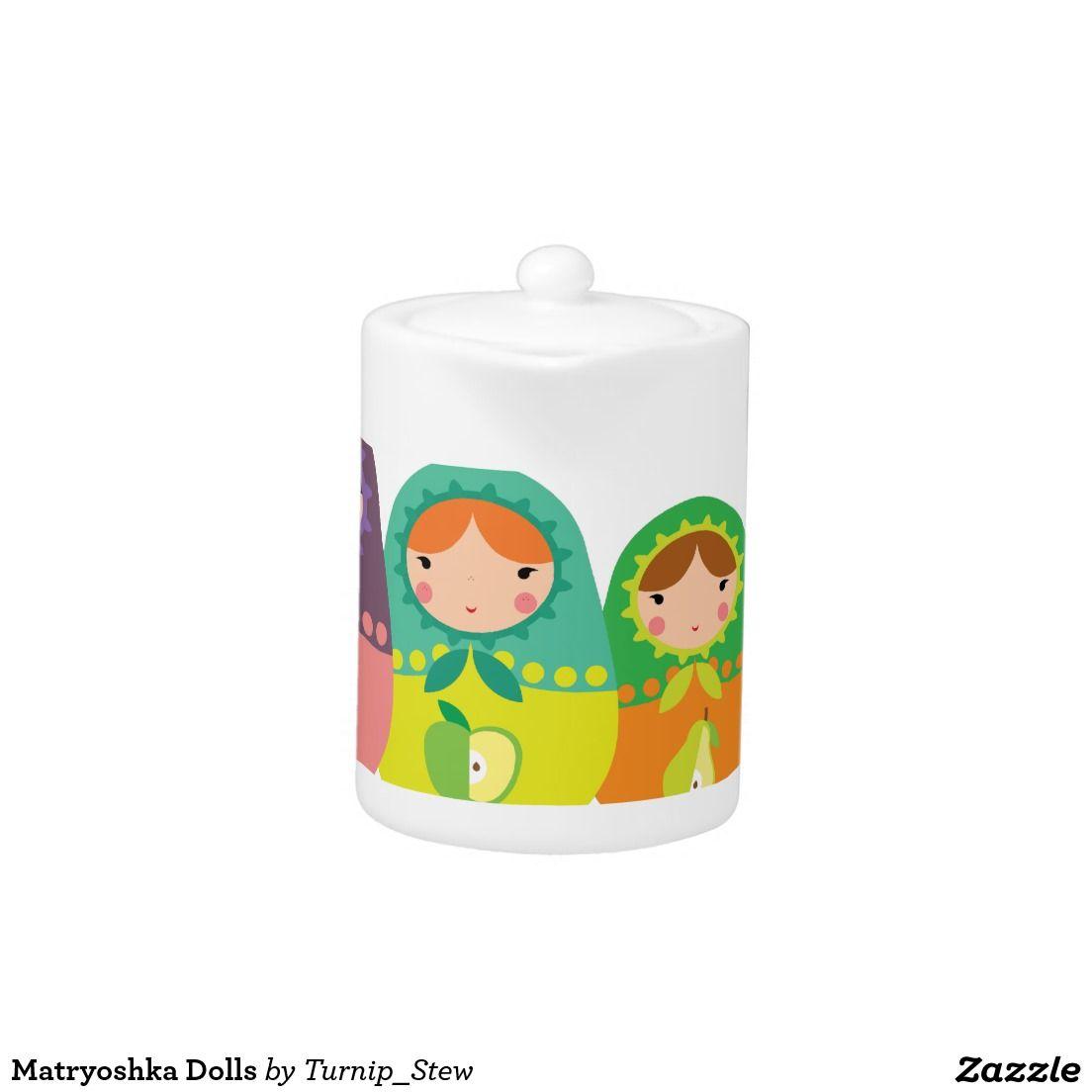 Matryoshka Dolls Teapot
