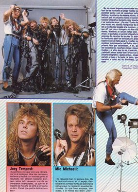Europe Europe Band Joey Tempest Europe