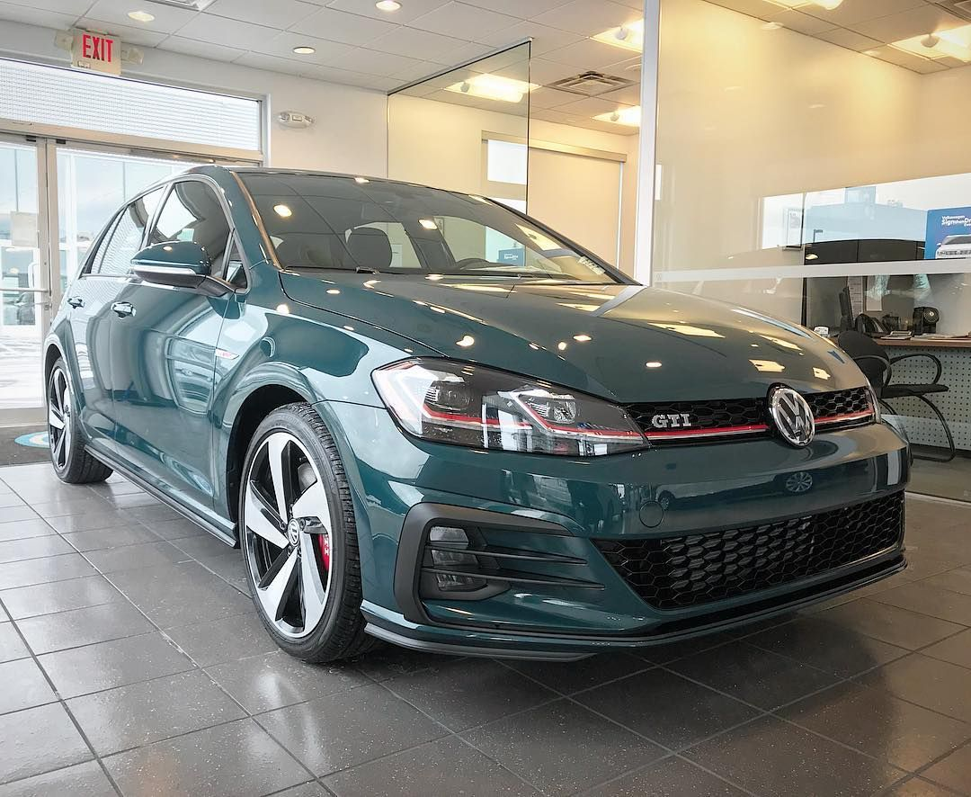 Introducing A New Exterior Color For The 2018 Volkswagen Golf Gti