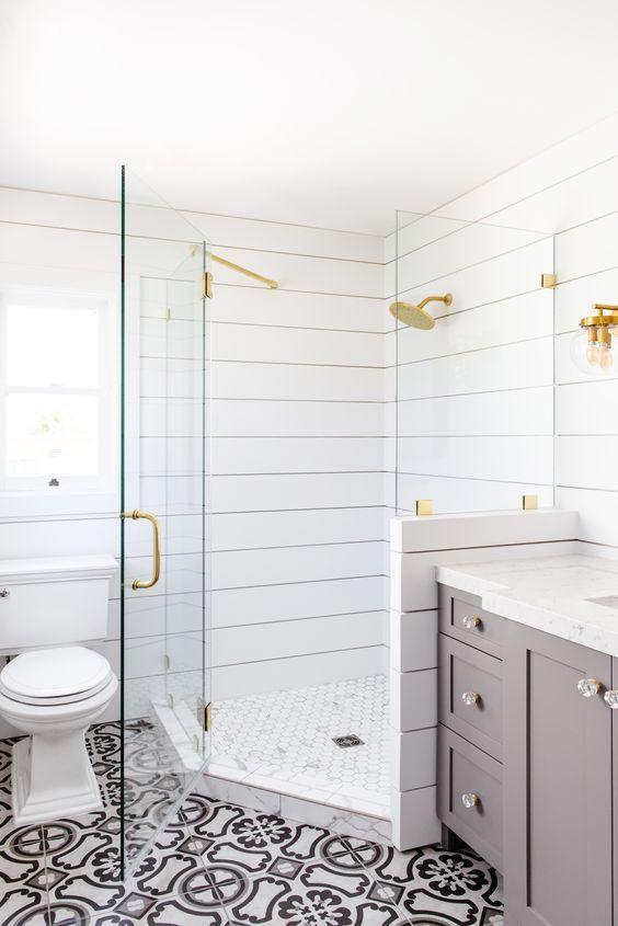 How We Did It Shiplap Shower Shower Remodel Diy