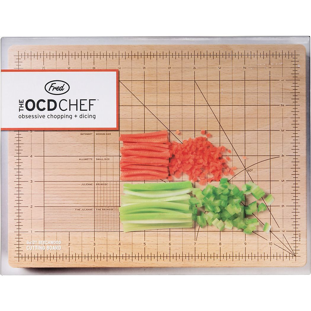 Fred Keuken Gerei Obsessive Chef Cutting Board Products Pinterest