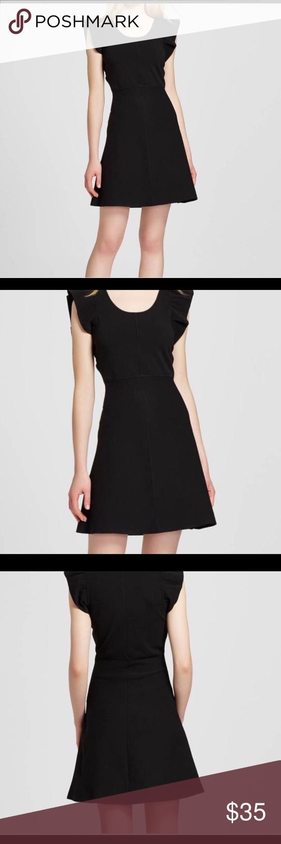 Nwt Victoria Beckham Black Ruffle Sleeve Dress Xs Victoria Beckham For Target Black Ruffle Sleeve Sweater Knit Dress Ruffle Sleeve Dress Dresses Black Ruffle [ 1740 x 580 Pixel ]