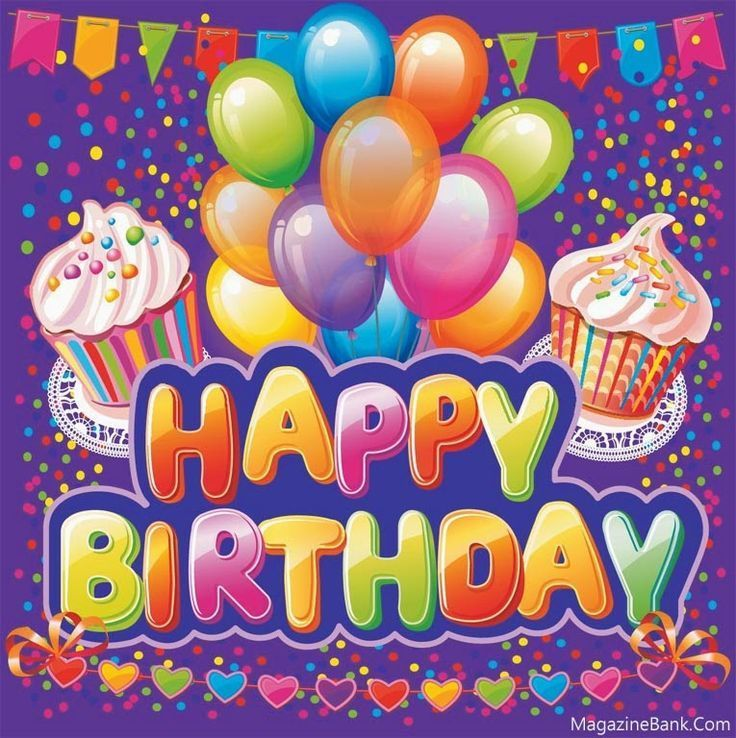 Colorful Festive Birthday Quote Happy Birthday Wishes Cards Happy Birthday Greetings Happy Birthday Cards
