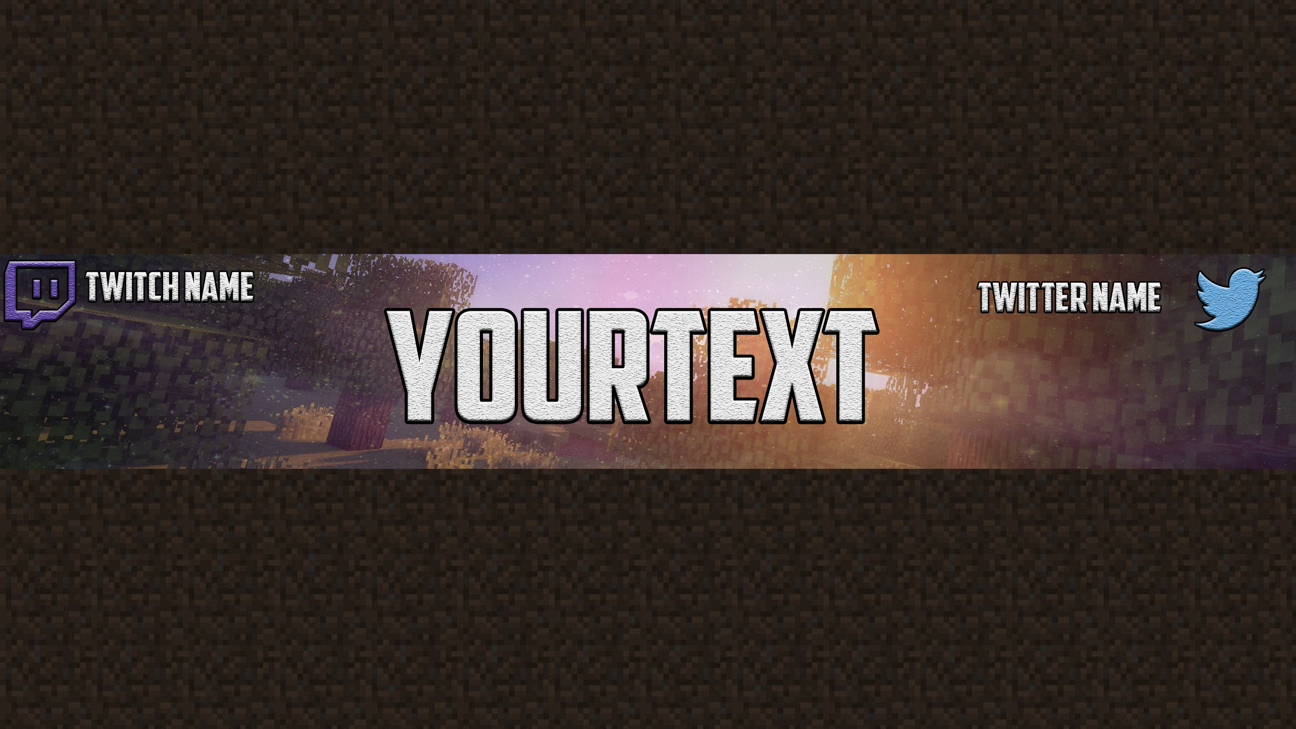 Channel Art Template (Photoshop) (5) By ItsRushed