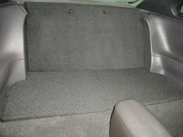 Rear Seat Delete Ford Mustang 94 04 Carpeted Plastic Panels Ebay Mustang Rear Seat Ford Mustang