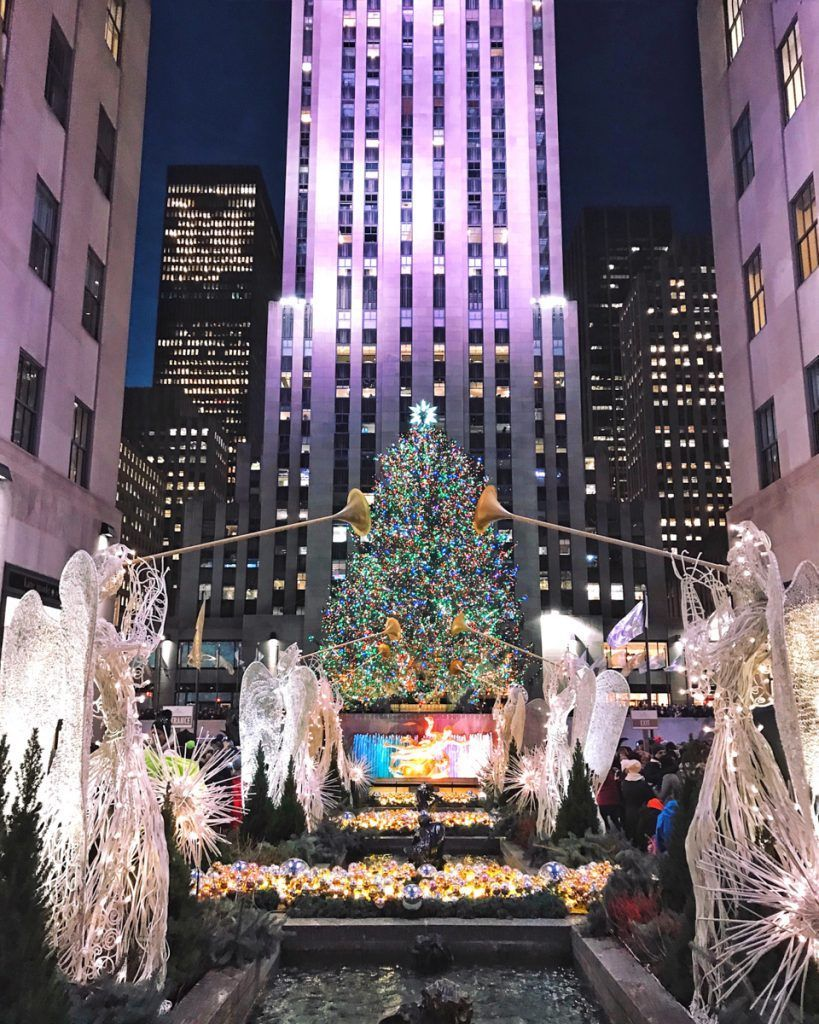 Rockefeller Center Christmas Tree, NYC winterfun