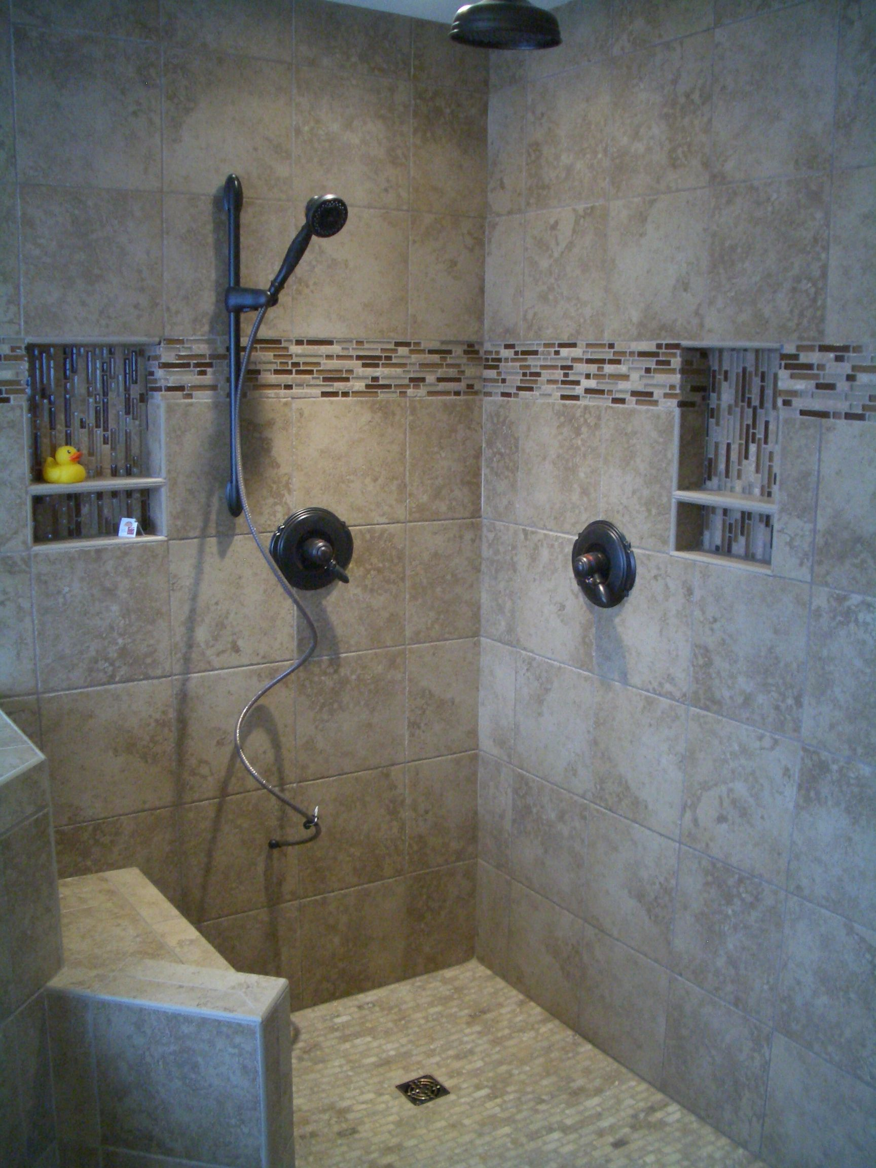 bathroom shower tile master bathroom shower remodel in fort collins the existing shower - Walk In Shower Tile Design Ideas