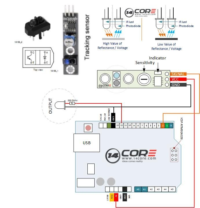 wiring the tcrt5000 reflective optical sensor module esp 8266 and M12 Sensor Wiring wiring the tcrt5000 reflective optical sensor module