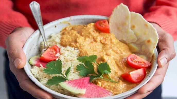 Chicken Tikka Masala with Slow Roasted Tomatoes