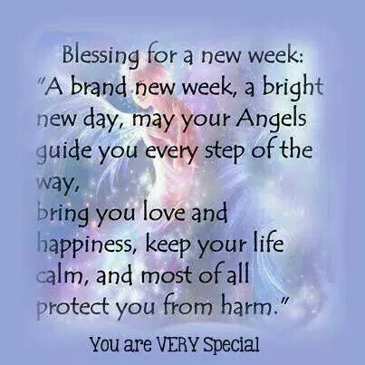 Image result for blessings for a brand new week