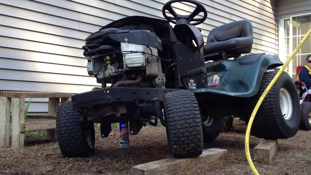 Can You Help Diagnose These Lt1000 Problems Lawn Mower Repair Riding Mower Riding Mowers