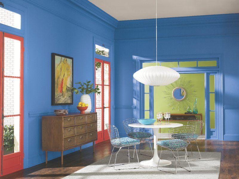 Sherwin Williams Sapphire Sw 6963 Paint Colors For Dining Rooms Pinterest Master