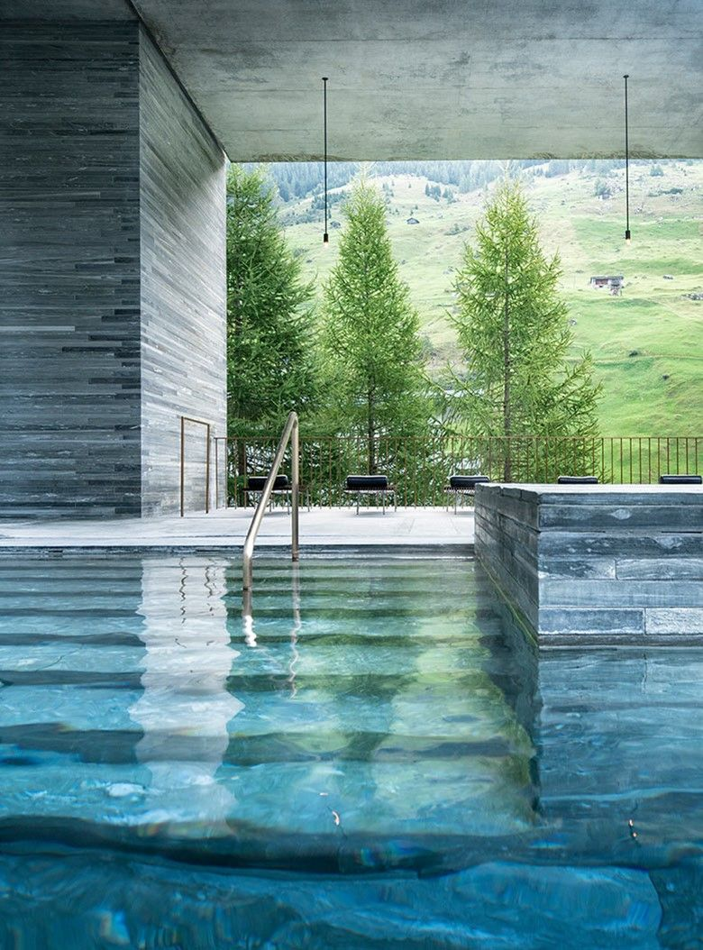 7132 Hotel Exceptional Hotel and Therme Vals Hotel