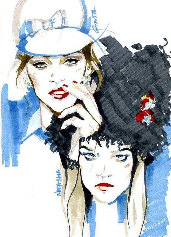 Alina Grinpauka Illustrations
