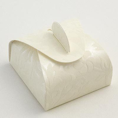 100 X Ivory Diamante Mini Astuccio Wedding Favour Boxes Amazonco