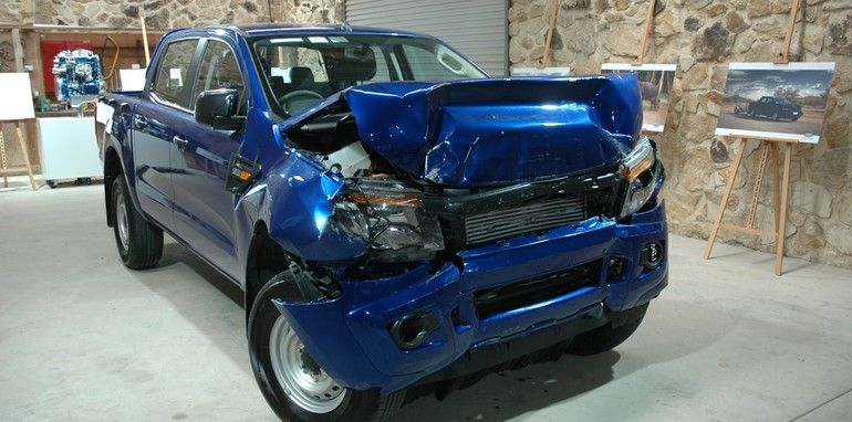 I Got An Accident Damaged Ford Ranger How To Get Rid It Off