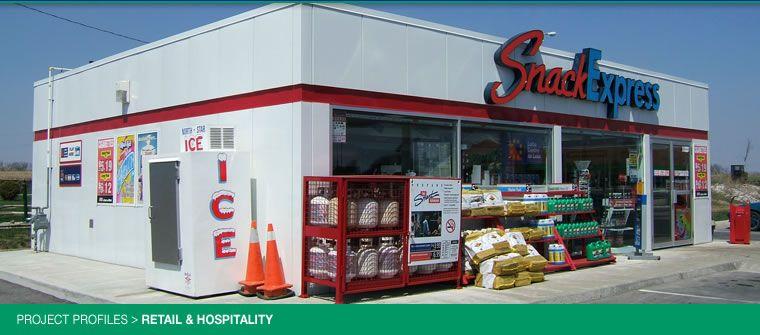 Modular retail convenience store pioneer petroleum