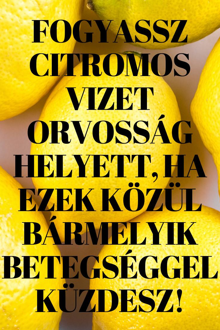 hogyan lehet lefogyni a citrom és a szódabikarbóna