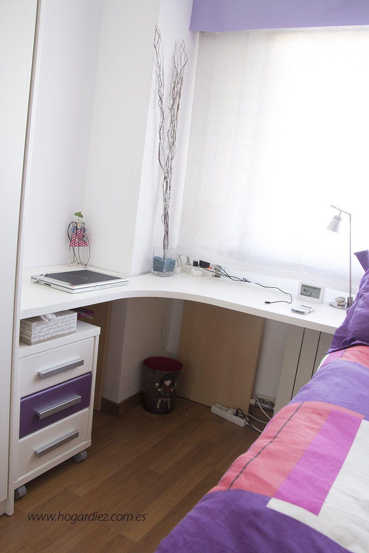 C mo amueblar una habitaci n juvenil cuartos for Como decorar una habitacion pequena juvenil