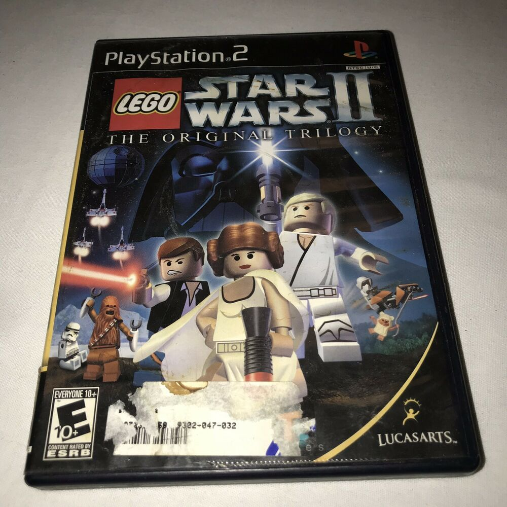 Black Label Lego Star Wars Ii The Original Trilogy For Playstation 2 Ps2 Ps4 Gaming Video Star Wars Ii Lego Star Wars Original Trilogy