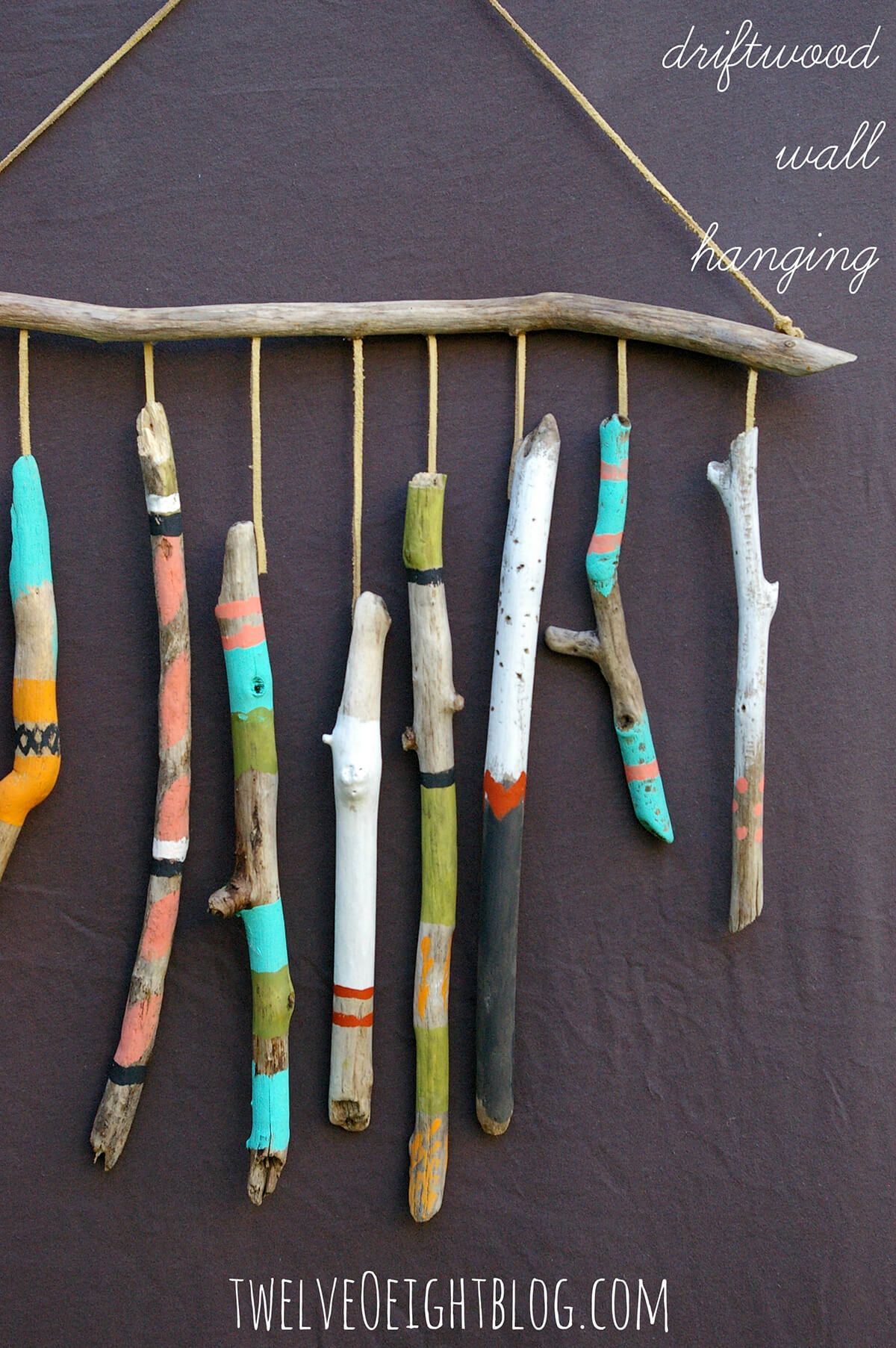 6 Fun and easy DIY driftwood craft ideas that you can do in a day #boisflotté