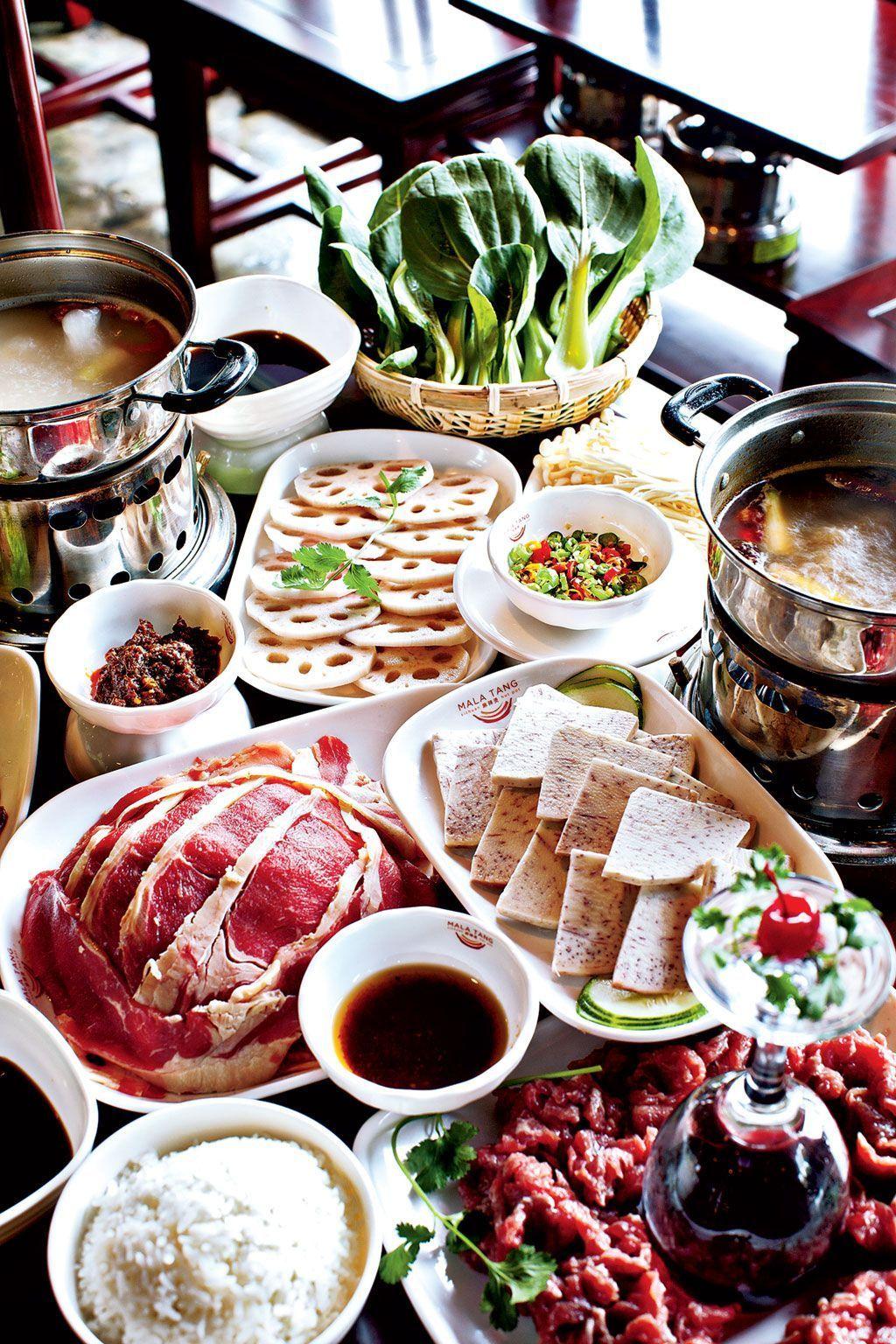 Restaurants Large Groups Szechuan Hot Pot At Mala Tang Photograph By Scott Suchman