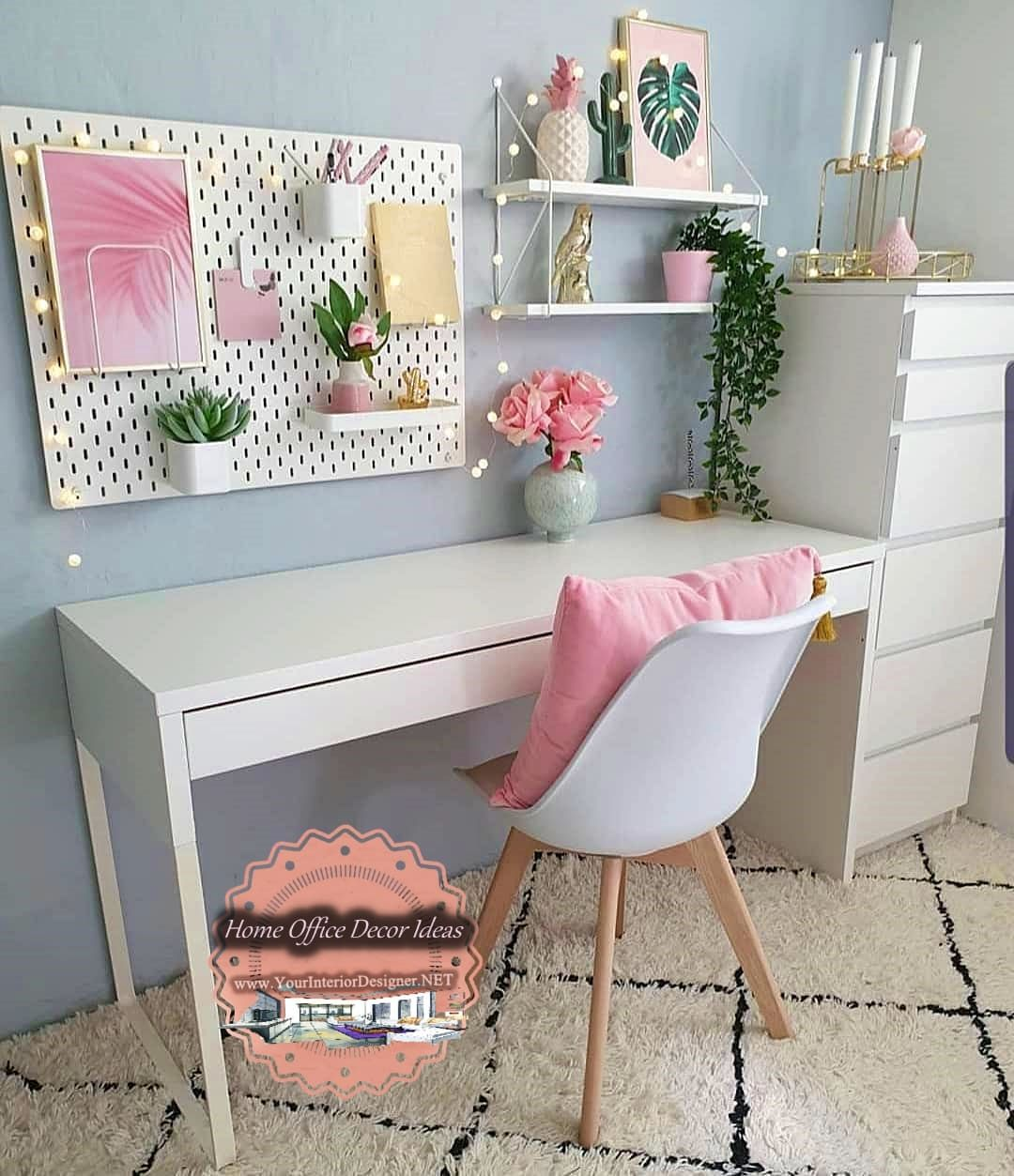 66 Unique Decor and Design Ideas For Home Office Workers
