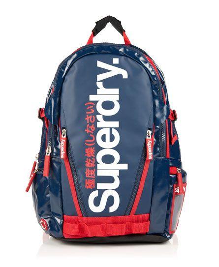 fe2035f40186 Superdry Shine Tarp Backpack