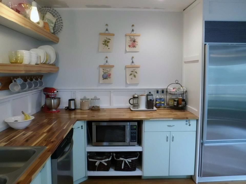 Kitchen, 1950's, Metal cabinets, Refinished, Youngstown ...