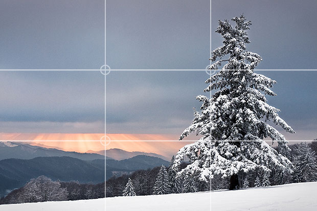 Rule Of Thirds Photography Mad Composition Design Rule Of Thirds Mountain Landscape Photography