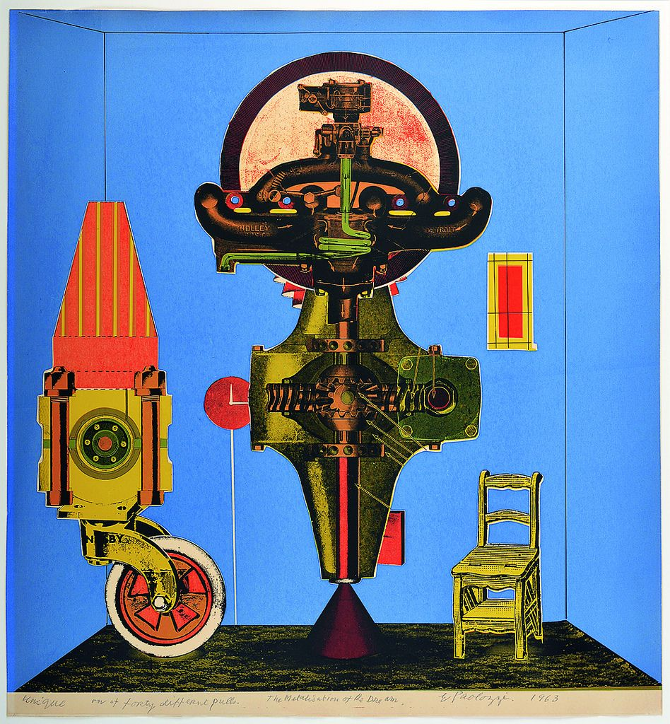 Eduardo Paolozzi's gifts as a collagist have been neglected by the worlds of both art and design | Eye Magazine