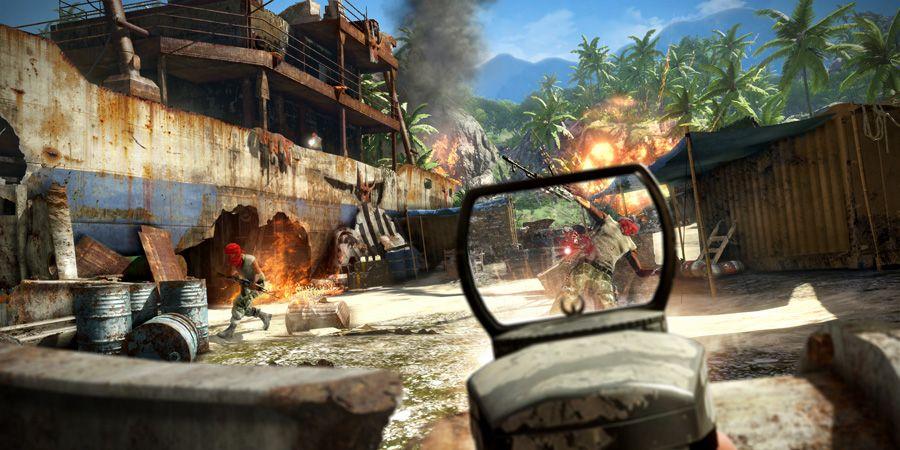 Far Cry 3 -FPS-peli.