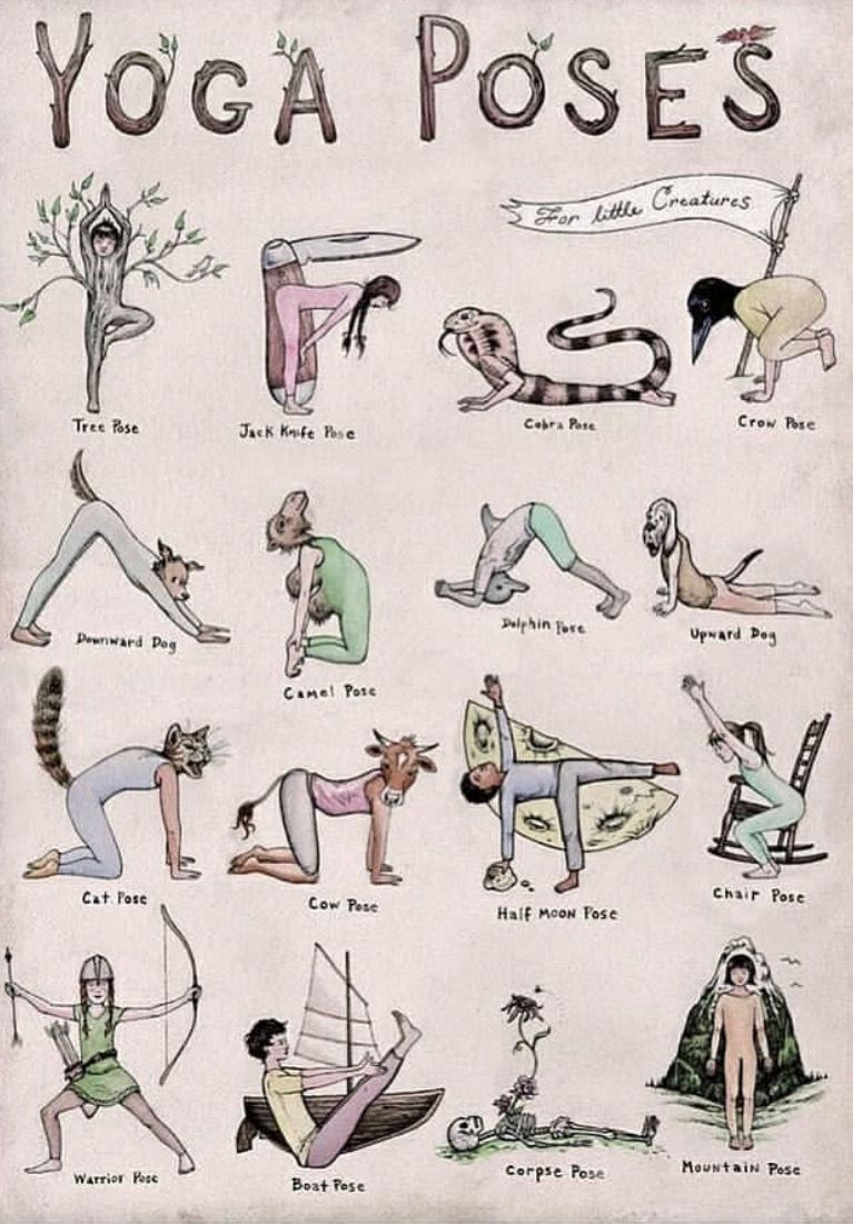 Easiest Yoga Asanas