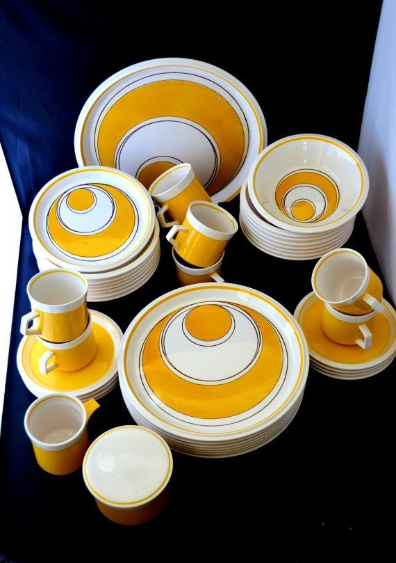 Vintage ATOMIC Mid Century DINNERWARE Set by MIKASA Lightu0027n Lively .  sc 1 st  Pinterest & Vintage ATOMIC Mid Century DINNERWARE Set by MIKASA Lightu0027n Lively ...