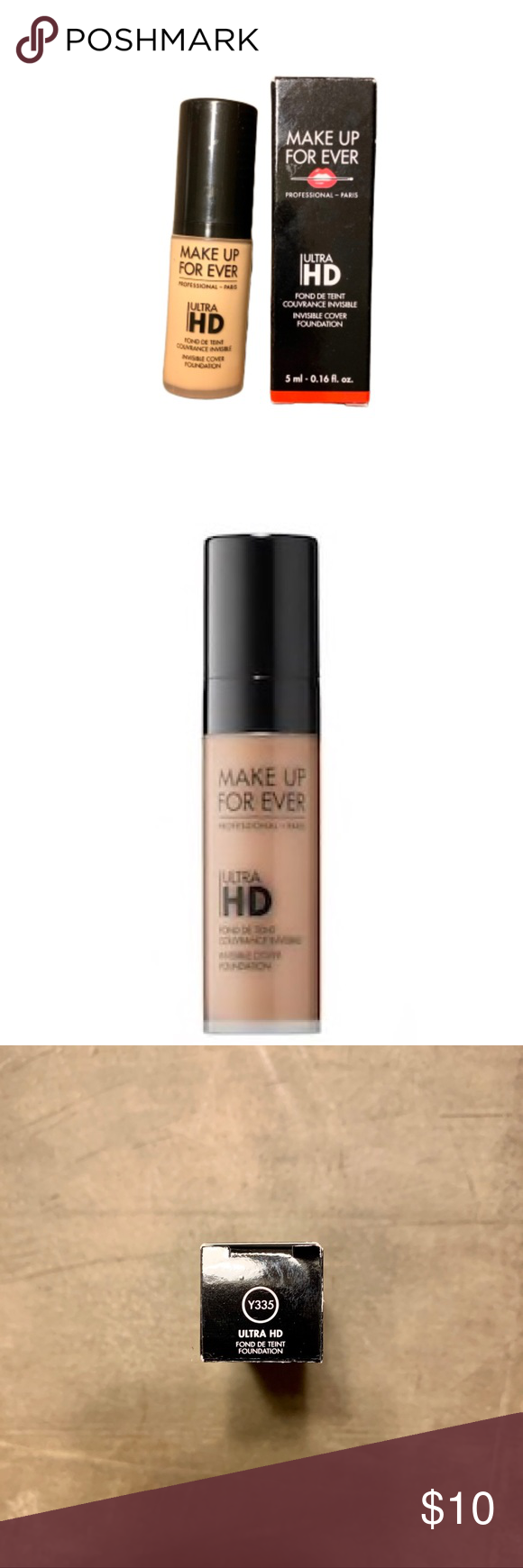 Make Up Forever Invisible Cover Foundation Mini size 5ml