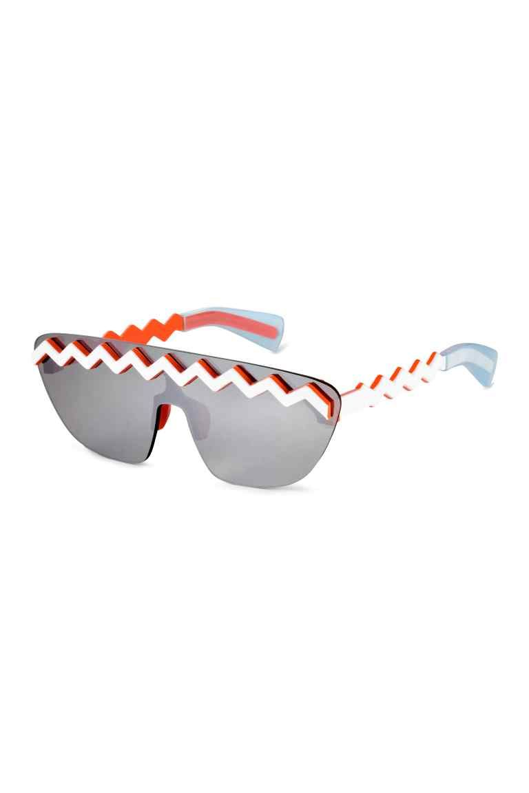 94c2dc1ff7 Sunglasses  KENZO x H M. Sunglasses with mirrored lenses and zigzag ...