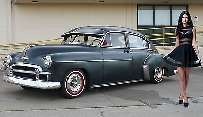 Chevy Fleetline Deluxe Fastback Kustom Bomb Daily Driver Hot Rat Rod No Reserve Chevy Classic Cars Chevy Custom Cars Paint